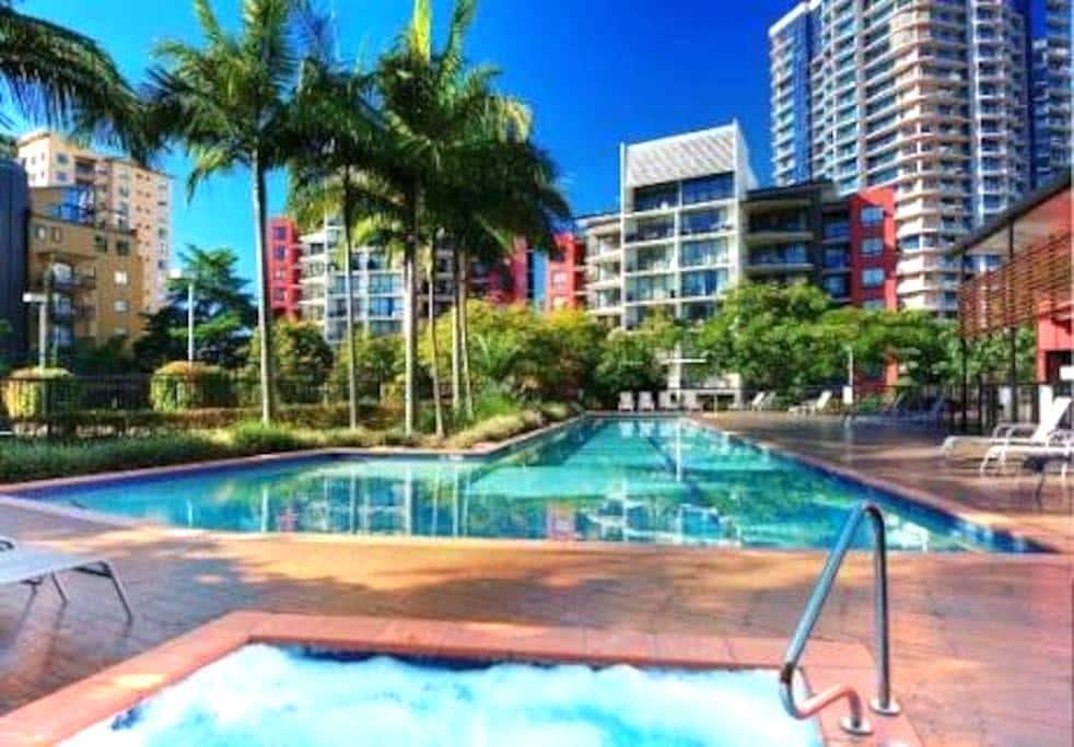 Tropical Oasis in Kangaroo Point - Kangaroo Point - Appartement