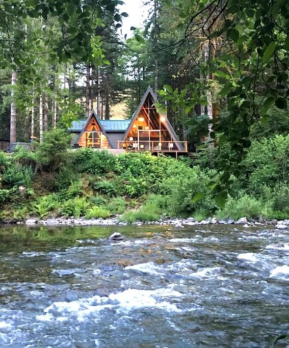 Treehouse on the Little North Fork - Lyons - Hus