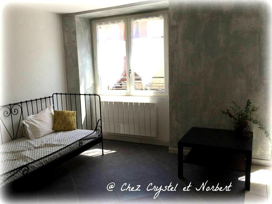 @Chez Crystel et Norbert - La Côte-Saint-André - Appartamento
