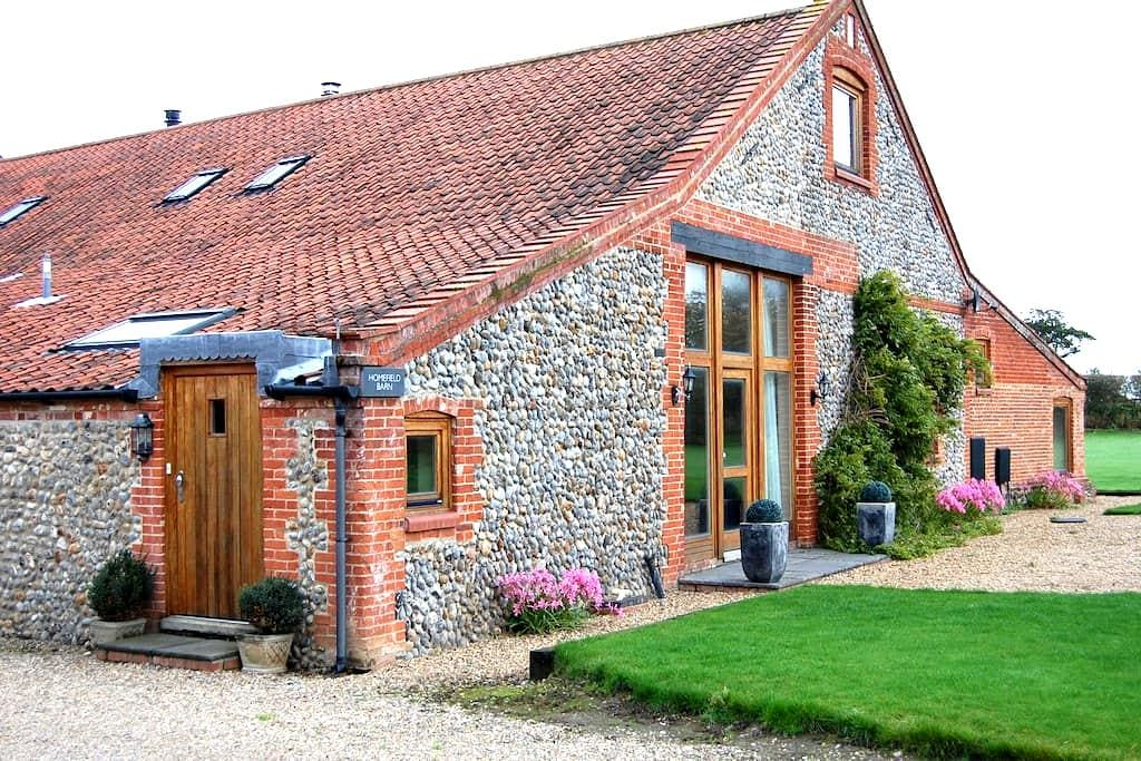 Homefield Barn Studio - 2 miles from the sea - Trunch - Apartment
