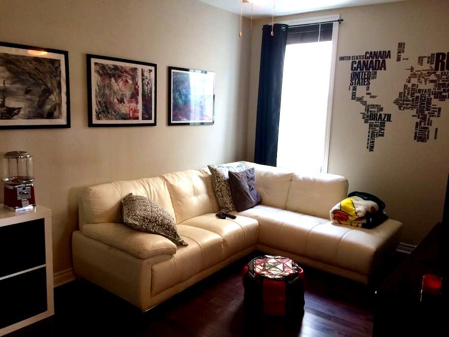 Bel appartement au centre-ville! - Sorel-Tracy - Lägenhet
