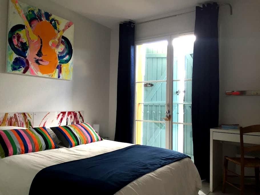 Chambre dans maison d'artiste - Cornebarrieu