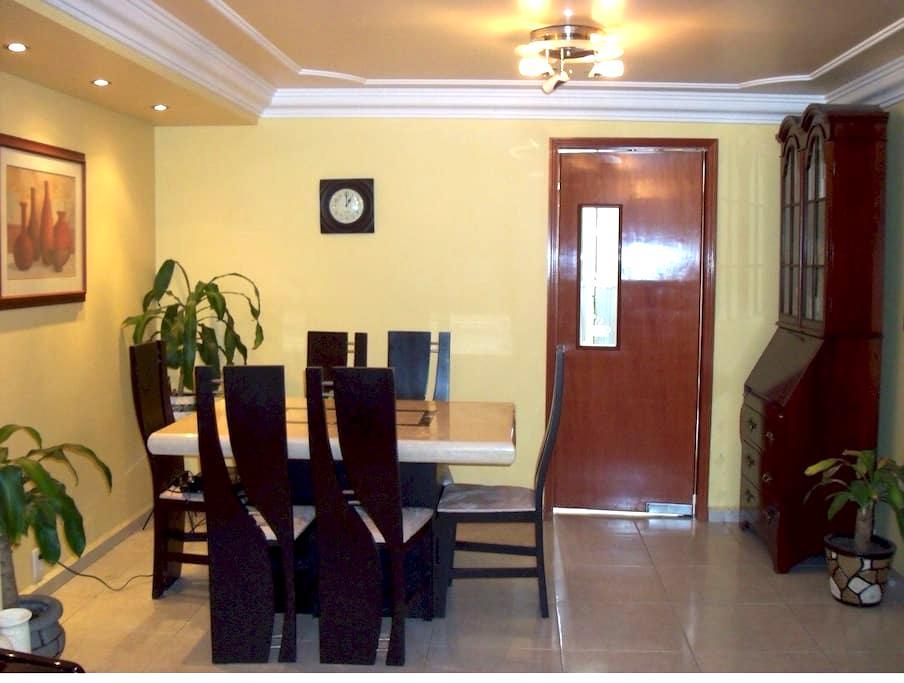 Beautiful comfortable bedroom in our apartment 4 u - Ciudad de México - Apartment