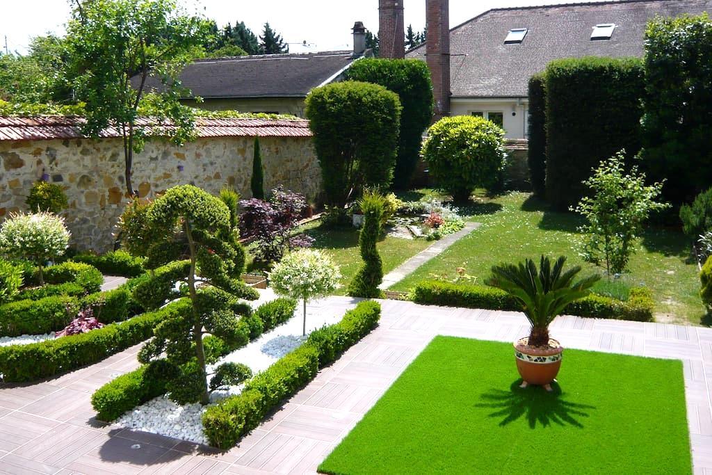 Logement sur jardin - Fontainebleau - Hus