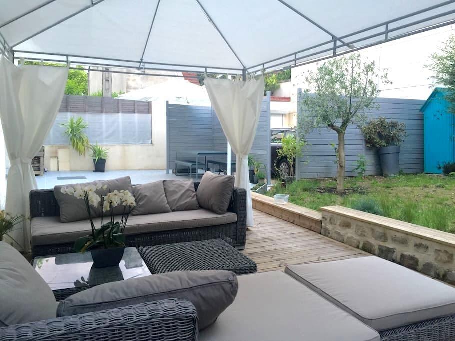 Master suite/Suite Parentale jardin - イヴリー=シュル=セーヌ - 一軒家