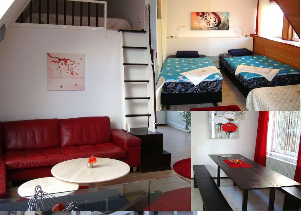 !TOP! 8,5 Zimmrer 2 bis 18 Pers. - Tecklenburg - Apartmen
