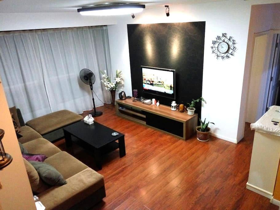 近海滩温馨复式带阁楼度假屋,带烧烤露台:) - Qinhuangdao - Appartement