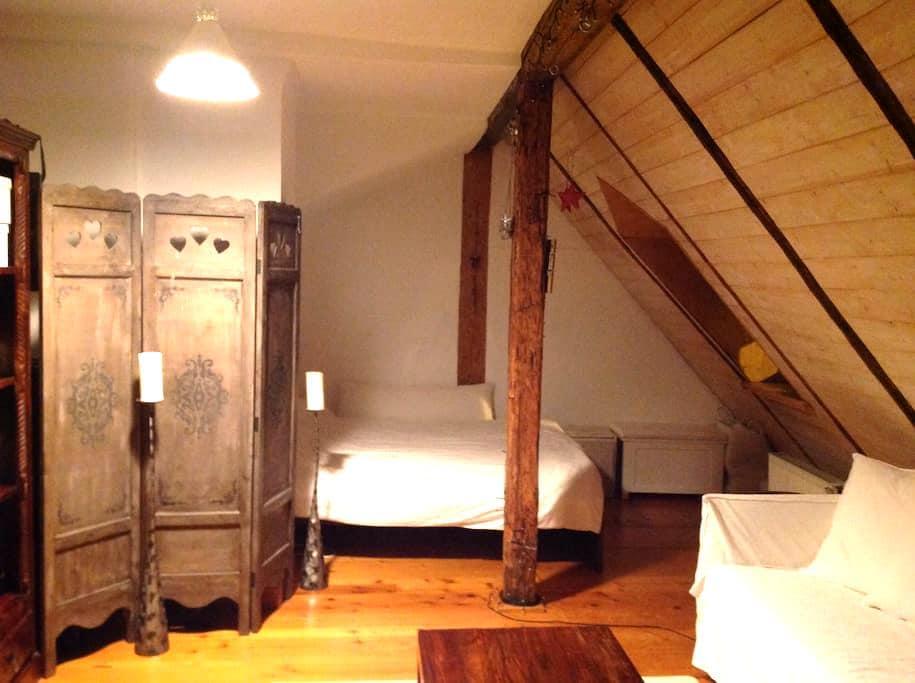 Schoene Dachwohnung im Zentrum - Landshut - Квартира