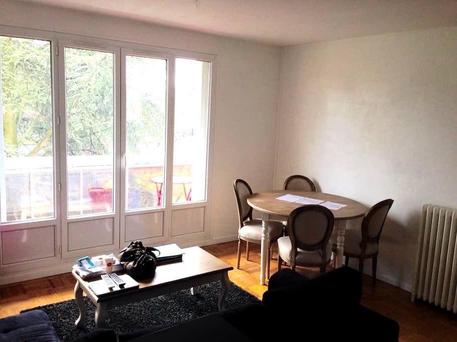 Charmant T3 vue Espaces verts 2chb - Tinqueux - Apartamento