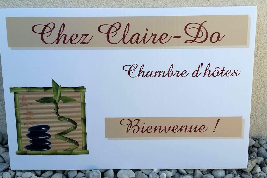 """""""Chez Claire-Do"""" Chambre d'hôtes - Farvagny - 獨棟"""