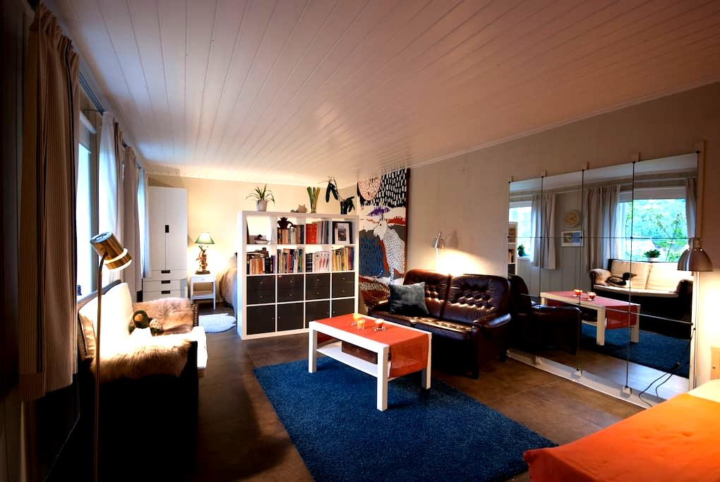 Sunny flat in seaside village just south of Oslo - 阿斯克爾(Asker) - 公寓
