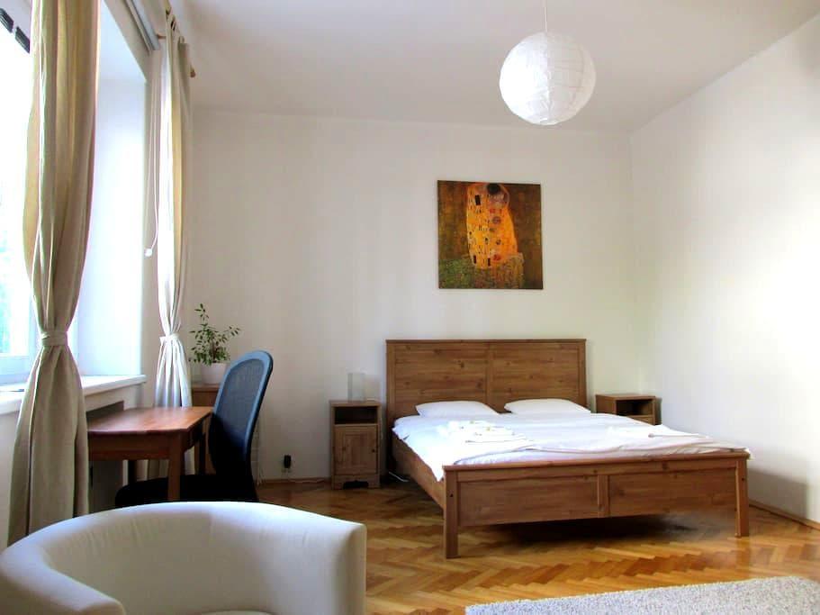 Spacious flat on a quiet street - Bratislava - Apartemen