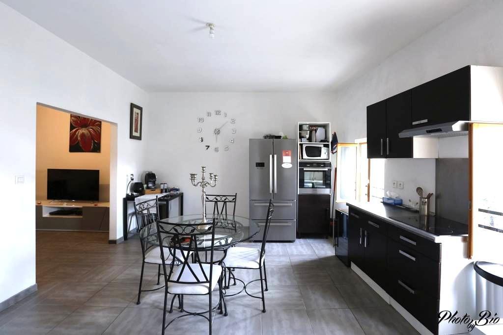 Appartement proche des plages et de Narbonne - Coursan - Lägenhet