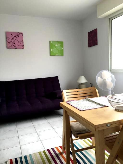 Studio sur la place du village - Bénesse-Maremne - Leilighet