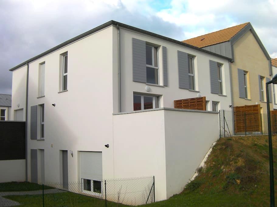 Duplex 10 min from Caen city center - Cambes en plaine - Appartement