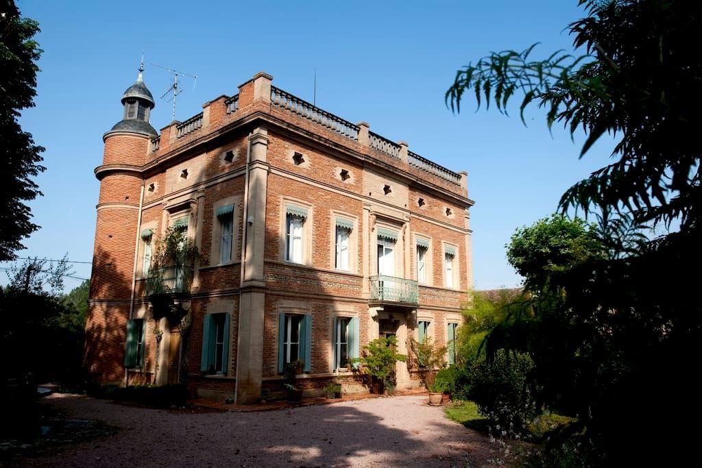 Château XIXc, close Toulouse  - Fenouillet, Haute-Garonne - Castelo