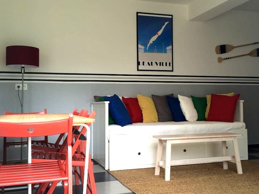Maison coquette et confortable proche de Giverny - Criquebeuf-sur-Seine - Hus