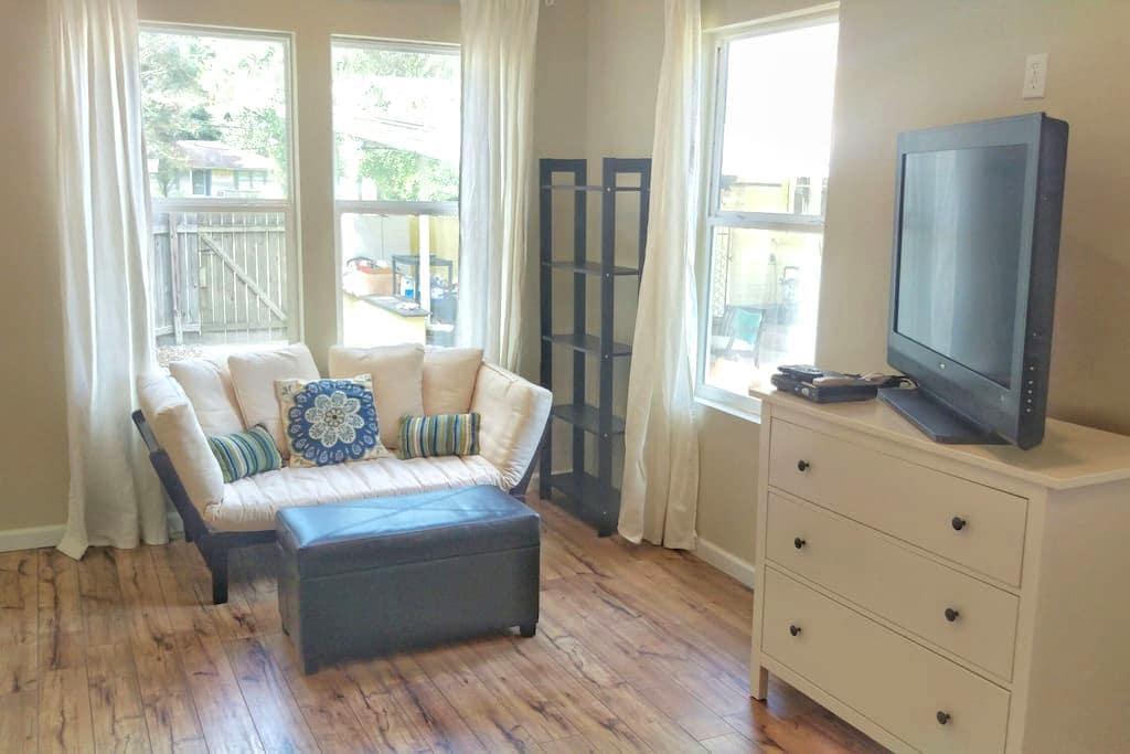 Charming Mid-city Studio Cottage - Baton Rouge - Huis