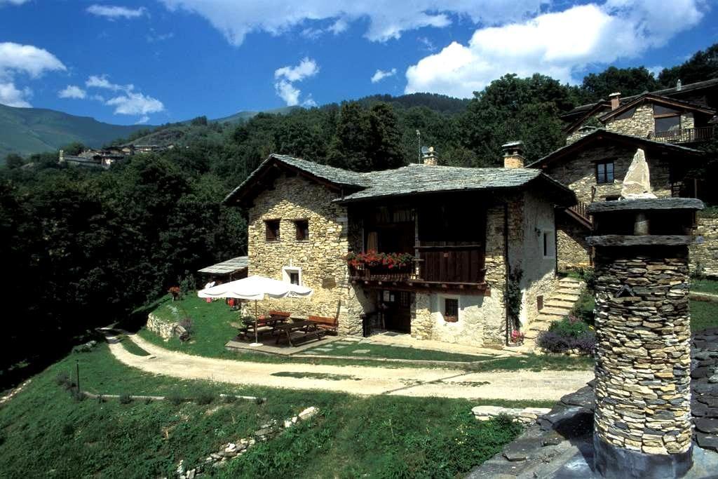 valle maira casa in montagna B&B camere e locanda - Stroppo - 公寓