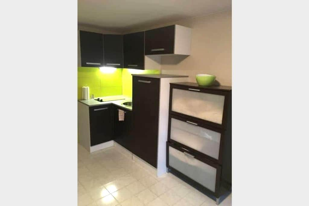 Petit studio cosy de 20m² - Grandcamp-Maisy - Apartamento