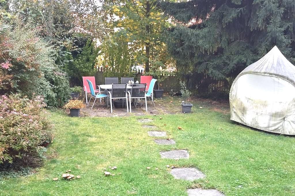 Tierfreundliche Unterkunft mit Garten, Nähe Zürich - Männedorf - Aamiaismajoitus