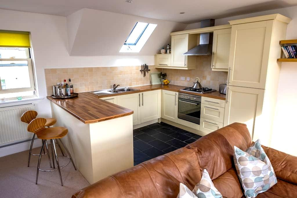 Contemporary Two-Bed Apartment in Wolsingham - Wolsingham - Daire