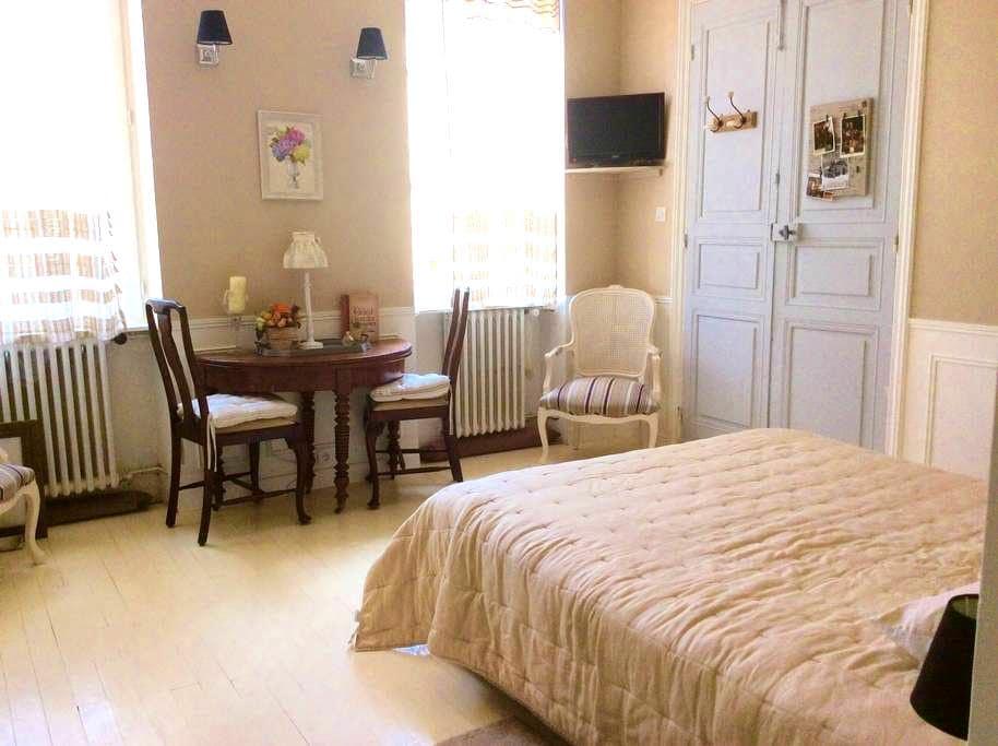 Chambre romantique dans maison de maître - Caussade - Radhus