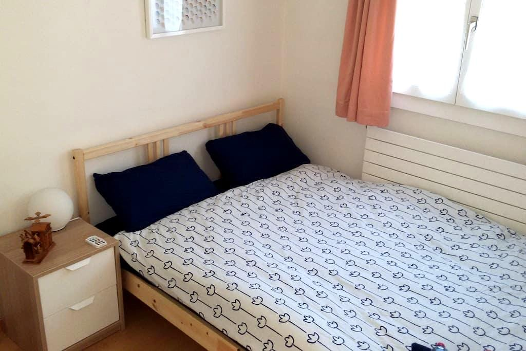Very small room in a modern house - Grand-Lancy - Casa