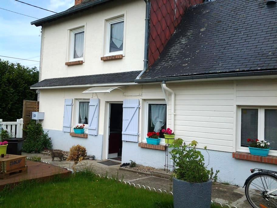 maison calme proche foret - Saint-Nicolas-d'Aliermont - Casa