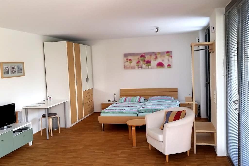 Modernes Appartement in Uninähe - Blaustein - Daire