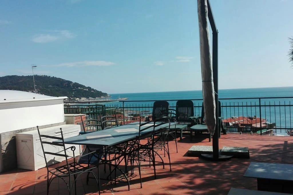 Sea View Apartment - Andora - Marina di Andora - Appartement