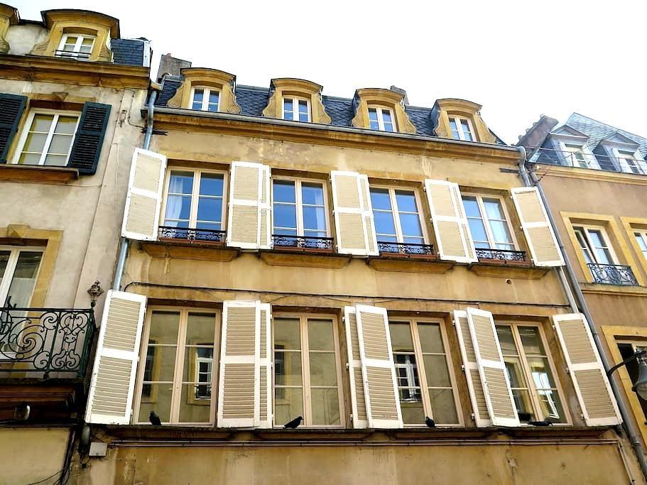 Duplex de charme, 72m2 Metz centre - Metz - Apartament