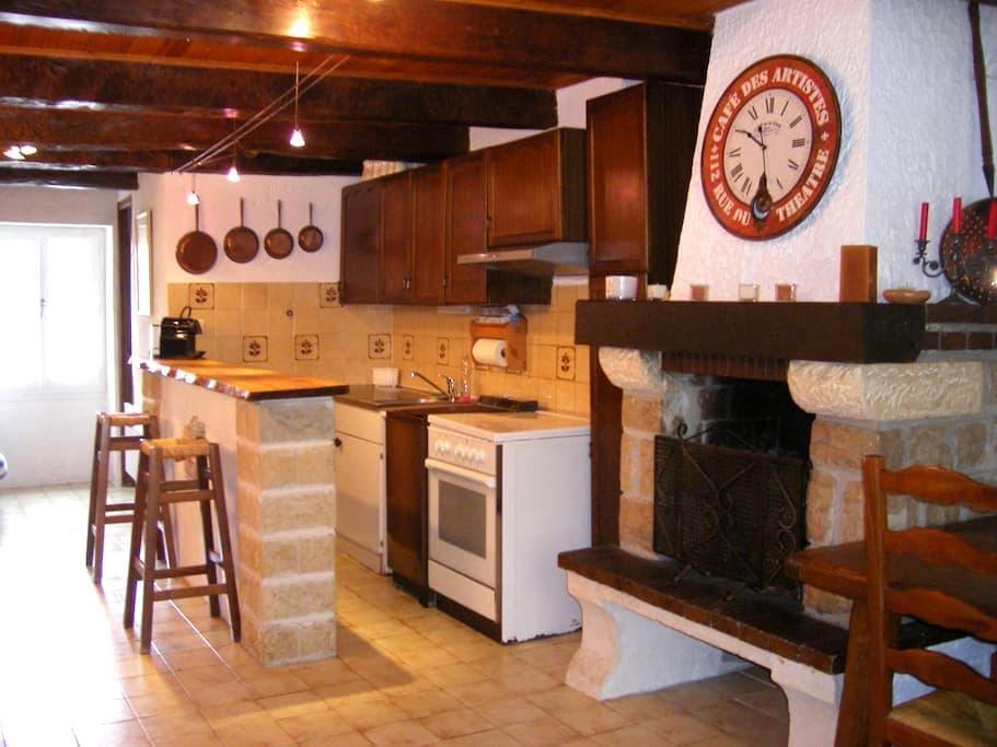 maison de village moyenne montagne - Caille - Appartement