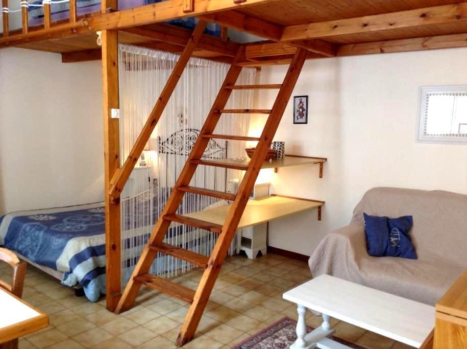 Studio tous conforts proche centre - Rochefort - Apartament