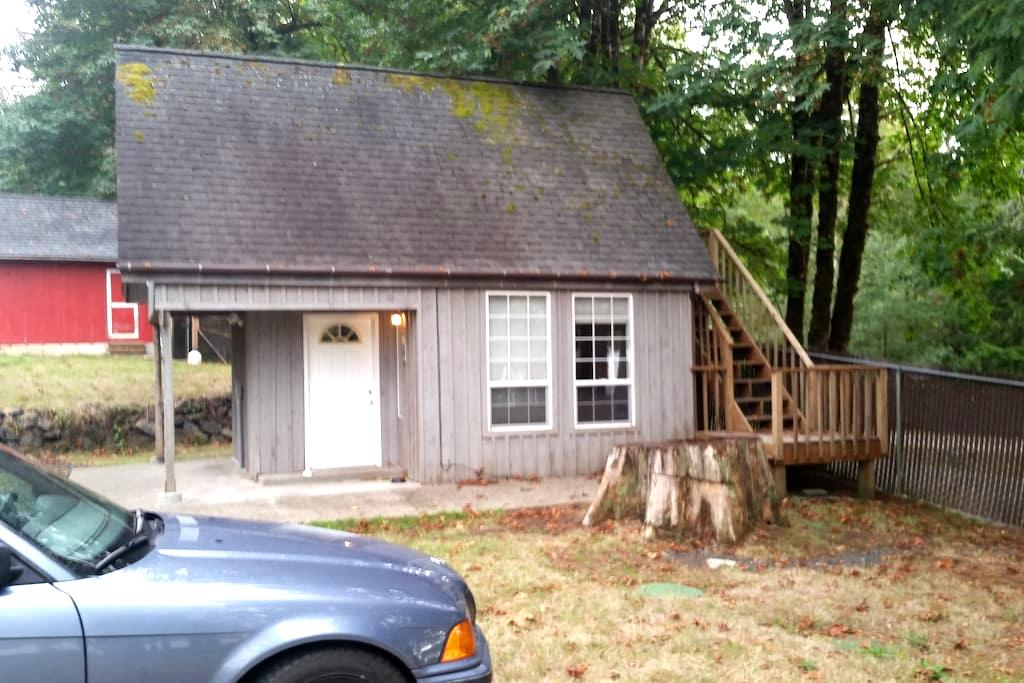 Lake front cabin - Shelton - Daire