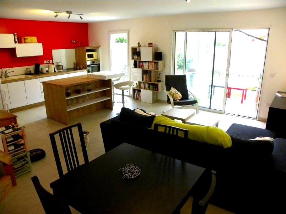 Grand appartement calme et fonctionnel avec jardin - Tain-l'Hermitage - Condo
