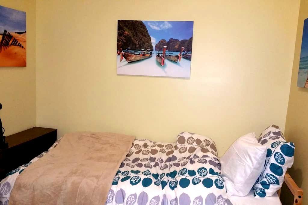 Comfortable studio w ensuite 20m from DT - Ottawa - Apartamento