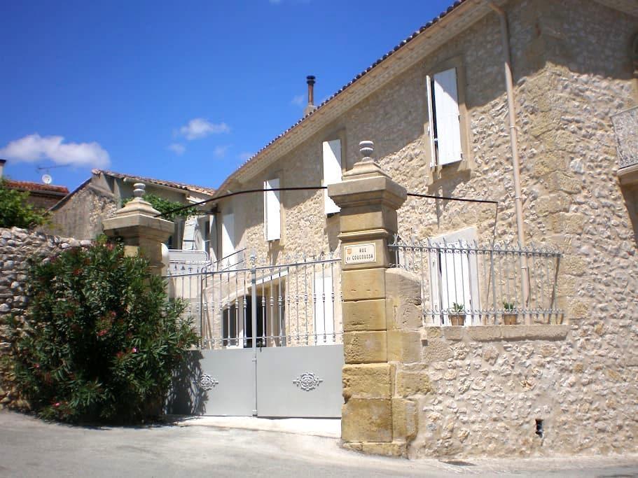 La maison de papé gite Terrasse - Combas - Wohnung