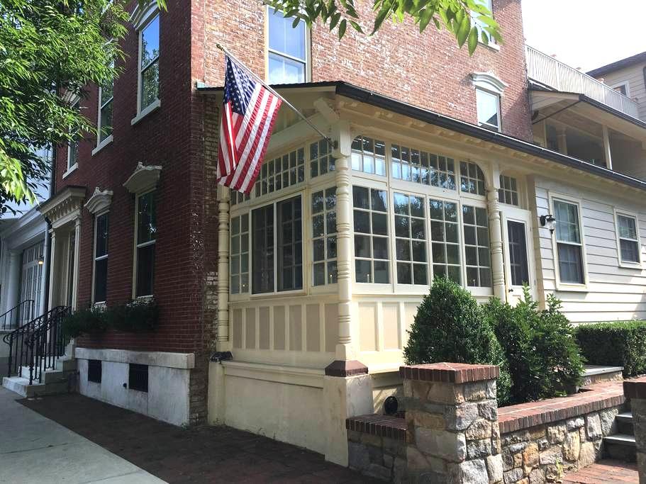 Quiet & Charming Historic District Apartment - Bethlehem - Lägenhet