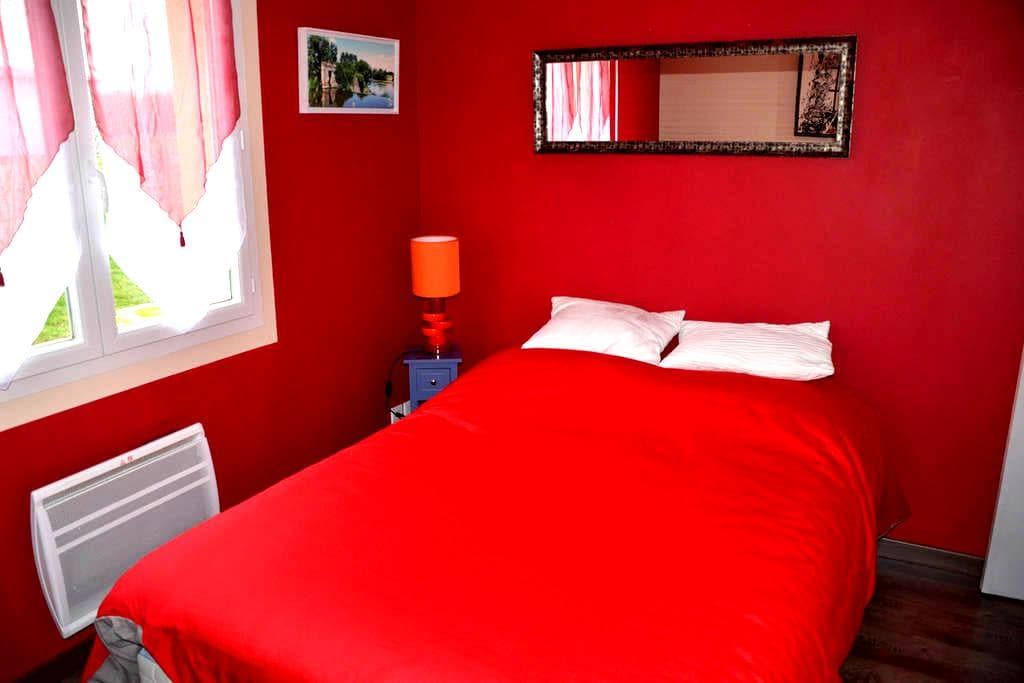 chambre, avec douche et wc privés - Torigni-sur-Vire - Casa