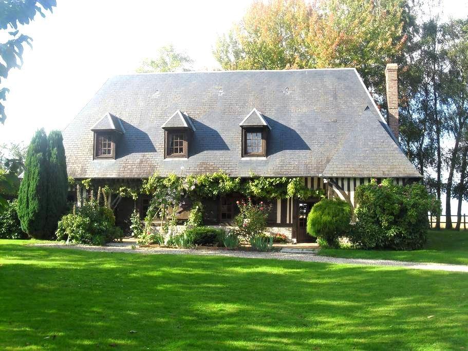 Maison normande au charme bucolique - Berthouville - Casa