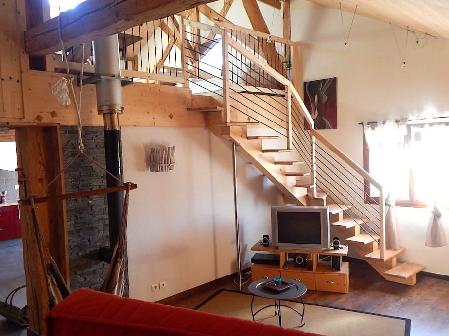 Gîte dans ancienne ferme comtoise - LE RUSSEY - Lägenhet
