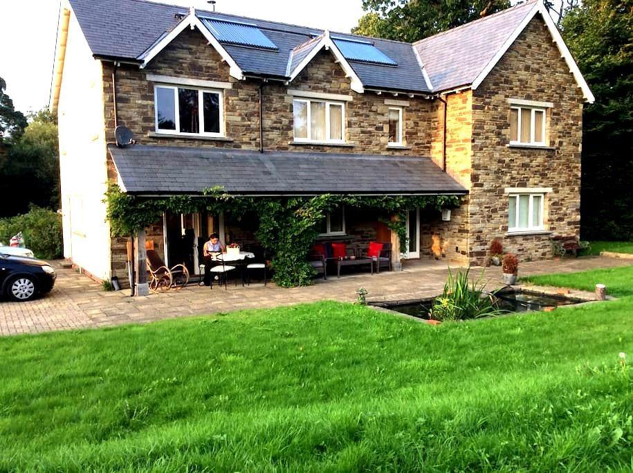 Delightful, quiet, en suite double - Hay-on-Wye - Casa