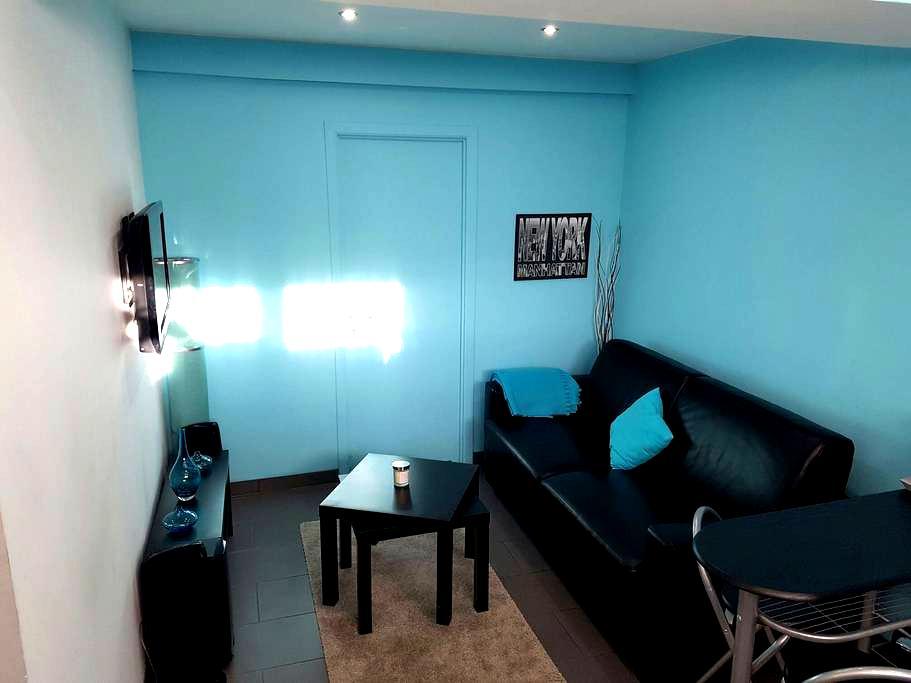 Beau studio.....lumineux,propre... - Wemmel - Apartamento