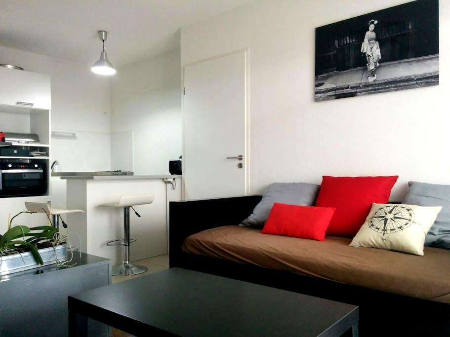 Beau T2 Terrasse Neuf / Plages - Baillargues - Appartement