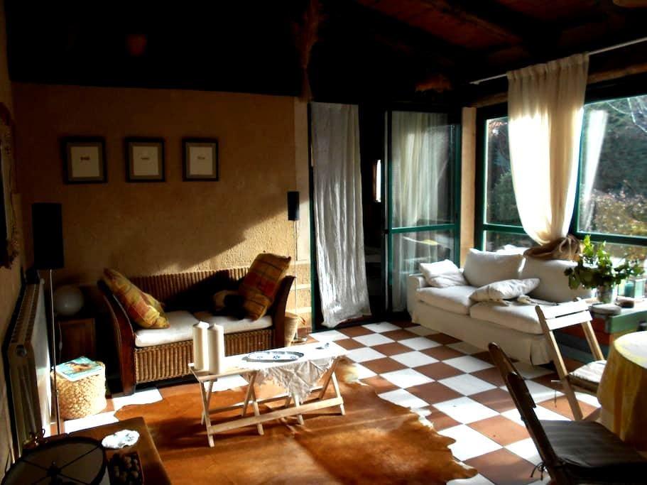 Casa invitados con jardin y piscina - Segovia - Huis