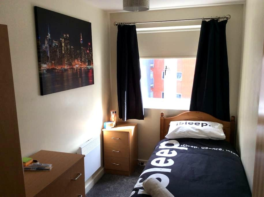 Single room in Gunwharf Quays - Portsmouth - Daire