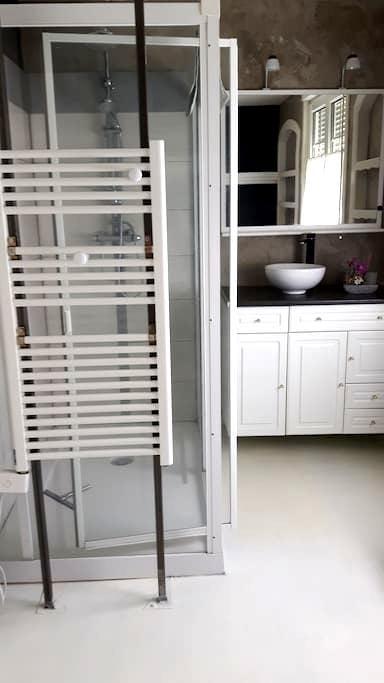 chambre style suite parentale - Sailly-Labourse - Haus