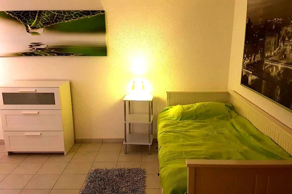 Ruhiges, gemütliches Zimmer in Flughafennähe - Dreieich - 獨棟