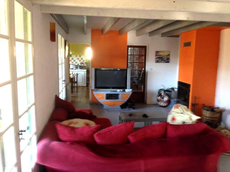 chambre chez l'habitant au calme - Urgosse - Huis
